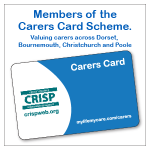 Carers Card Window Sticker